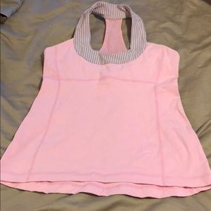 Lululemon scoop neck, size 8